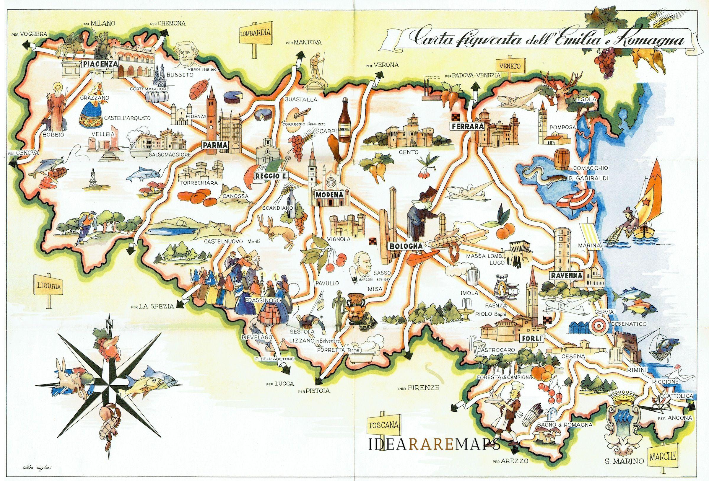 Emilia Romagna Cartina Dettagliata.Emilia Romagna Cartina Bicimtbebike Com Listini Prezzi Test Bici Elettriche Gare Ciclismo